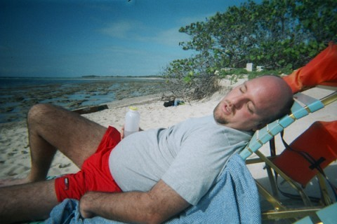 jim crashed after snorkeling