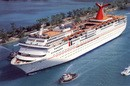 Postcard of the Carnival cruise ship - FANTASY