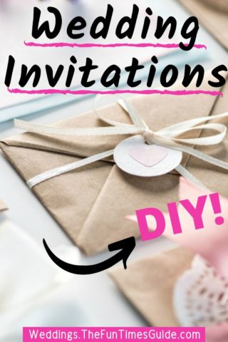DIY Wedding Invitations - tips and tools to make them yourself at home!
