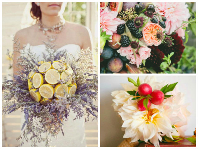Non Flower Wedding Bouquets 10 Unique DIY Wedding Bouquet Ideas