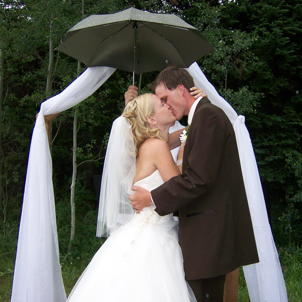 Rainy Weather Wedding Planning: How To Keep The Rain From