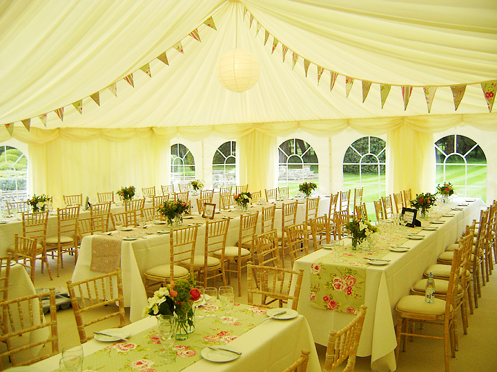 Wedding Table Runners By County Marquees